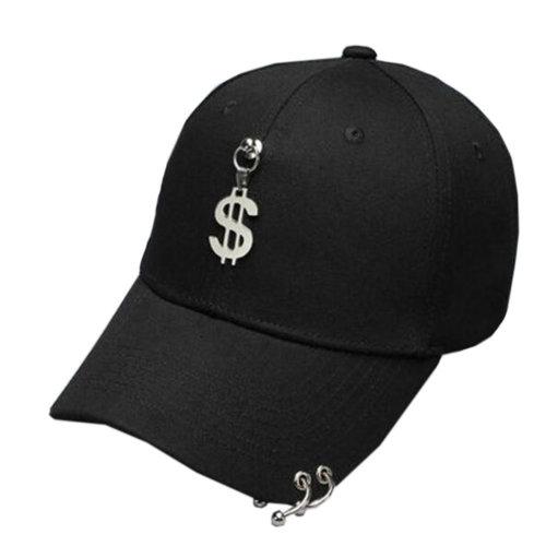 Unisex Fashion Outdoors Sports Cap Peaked Cap Adjustable Korean Baseball Hip Hop Cap,#B