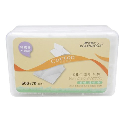 570 Pieces of Cotton Pads Suitable for Make up Removal