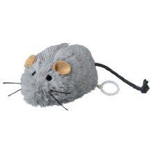 Wriggle Up Mouse, 8cm - Cat Trixie Wind Mouse Toy Shake Tremble Plush Prank -  up wriggle cat trixie wind mouse toy shake tremble plush prank pet