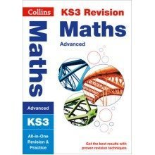 Collins Ks3 Revision and Practice - New Curriculum: Ks3 Maths (advanced) All-in-one Revision and Practice