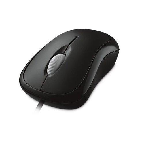Microsoft Basic Optical Mouse - Black (Brown Box)