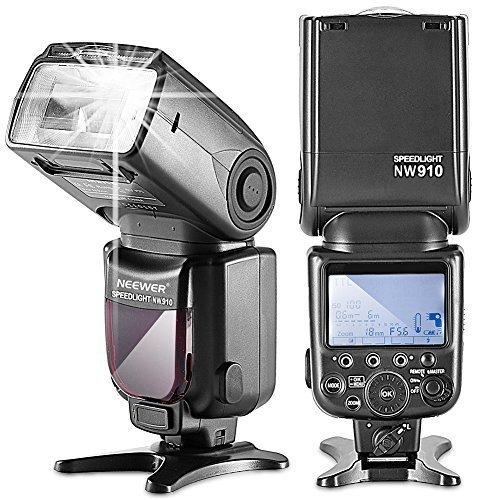 Neewer NW910/MK910 i-TTL 1/8000s HSS LCD Display Speedlite Master/Slave Flash for Nikon D60 D70 D70S D80 D80S D300S D700 D3000 D3100 D5000 D5100...