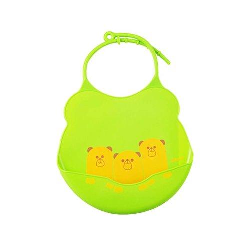 Cartoon Water-repellent Comfortable Baby Bib/Pinafore For Baby,Green