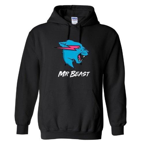 Mr Beast Logo  2 Kids Hoodie