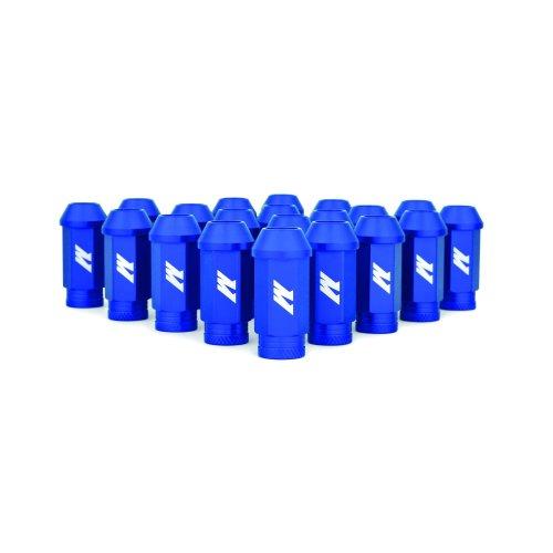 Mishimoto MMLG-125-LOCKBL  Aluminium Locking Lug Nuts, M12 x 1.25, Blue