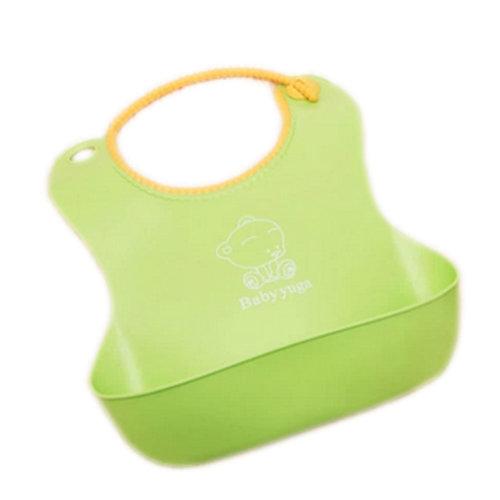 82c6a962c64 Toddle Burp Cloths Infant Baby Waterproof Flexible Feeding Bibs GREEN Set  of 2 on OnBuy