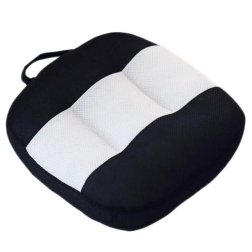 Breathable Car Seat Pillow 15cm Height Increasing Cushion For Driving/Office-A02