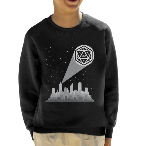 Dungeons And Dragons Bat Dice Kid's Sweatshirt