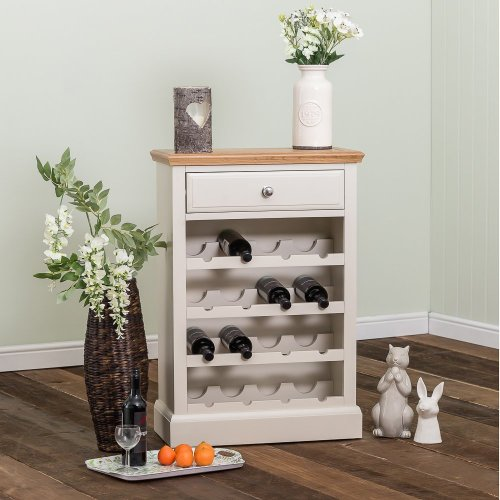 Kensington Painted Oak Wine Cabinet