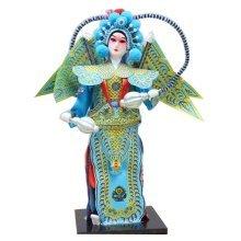 Traditional Chinese Doll Peking Opera Performer - Yue Yun