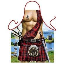 Fun Apron - Scottish Man