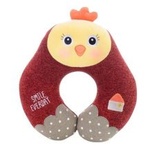 Cute Comfortable Neck Pillow Neck Support U-Shape Pillows for Home/Office/Travel, E