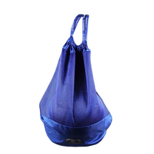 Basketball Soccer Volleyball Pocket Training Bag Outdoor Sport Organizer Backpack-Blue