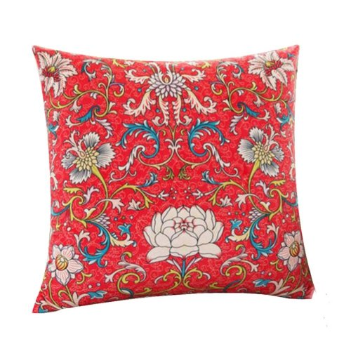 Classic Elegant Decorative Hold Pillow Throw Pillow Body Pillows Cushions, Red