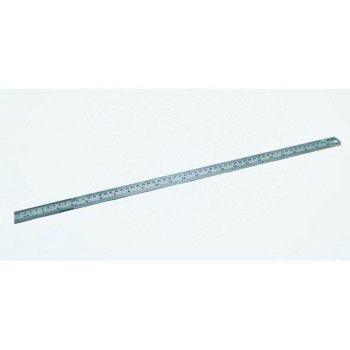 "Hilka 75600012 Matt Stainless Steel Ruler Matt Finish 12"" 300mm"