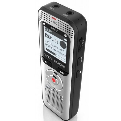 Philips Voice Tracer 2000 Internal memory & flash card...