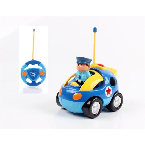 Vinsani My First Radio Remote Controlled Police Car - Light Blue