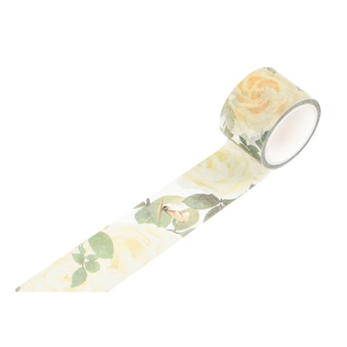 Washi Masking Tape, Create Unique Decorative Crafts and Bullet Journals (Set of 6 Rolls)