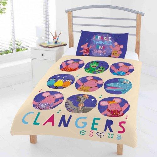 The Clangers Circles Junior / Cot Bed Duvet Cover Set