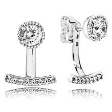 Pandora Abstract Elegance Earring Studs - 290743CZ