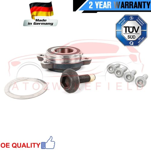 FOR AUDI A6 FRONT AXLE LEFT 4F2 4F5 4FH C6 FRONT WHEEL BEARING HUB FLANGE KIT