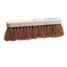 Faithfull Soft Coco Broom 24 Inch With Handle and Stay