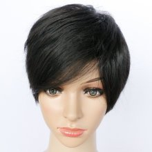 10 Inch Straight Short Synthetic Hair
