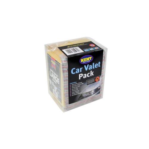 Car Valet Pack - 8 Piece Set