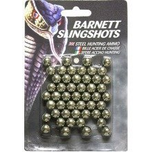 Barnett Slingshot Catapult Ammo - Metal - Pack of 50