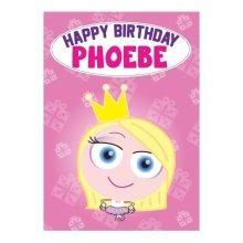Birthday Card - Phoebe