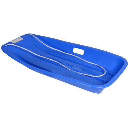 KandyToys Snow Speeder Plastic Sled - Blue