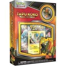 Pokemon TCG Tapu Koko Pin Collection With 3 Pokemon TCG booster packs