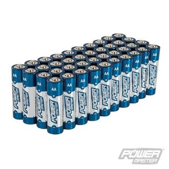 AA Super Alkaline Battery LR6 40pk