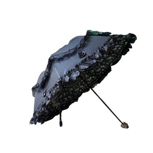 Princess Umbrella Arch Sunny Umbrella Vinyl Lace Parasol UV Sunscreen