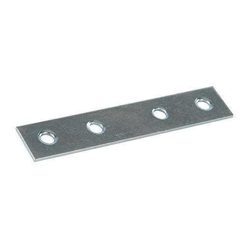 Fixman 844905 Mending Plates, Silver, 80 Mm, 10-piece - Plates 10pk 80mm -  fixman 844905 mending plates 10pk 80mm