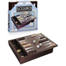 Backgammon in Premium Wood Box