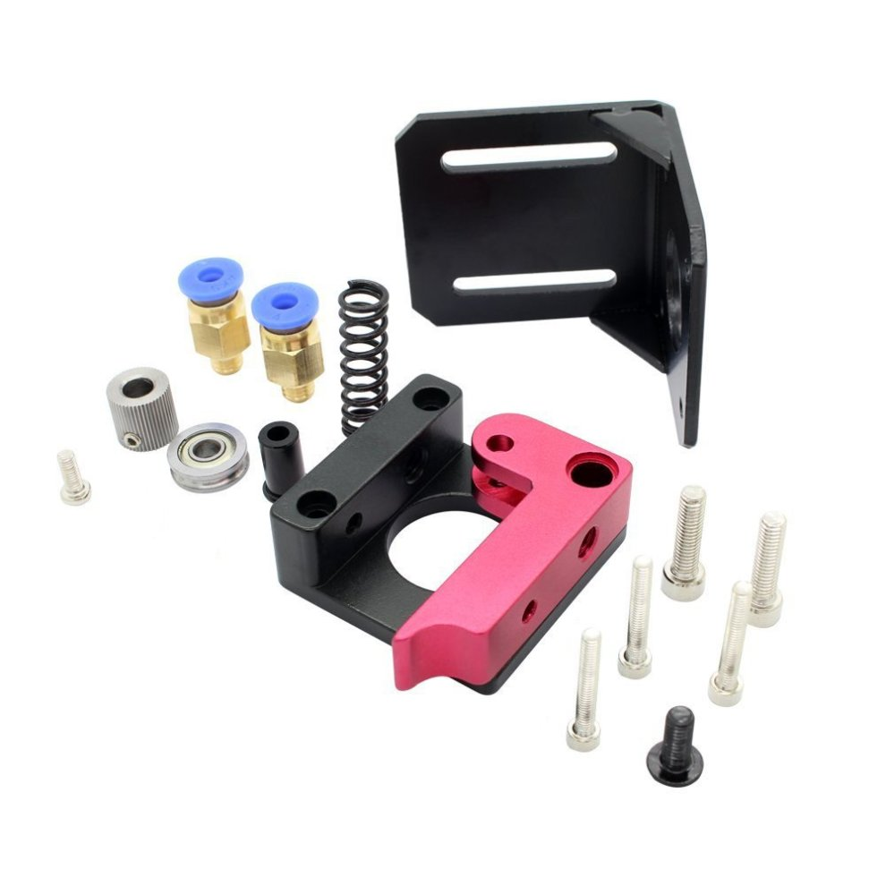 Redrex Right Hand 1 75mm Filament MK8 Bowden Extruder Frame Block for  Reprap 3D Printer Kossel Mendal Prusa