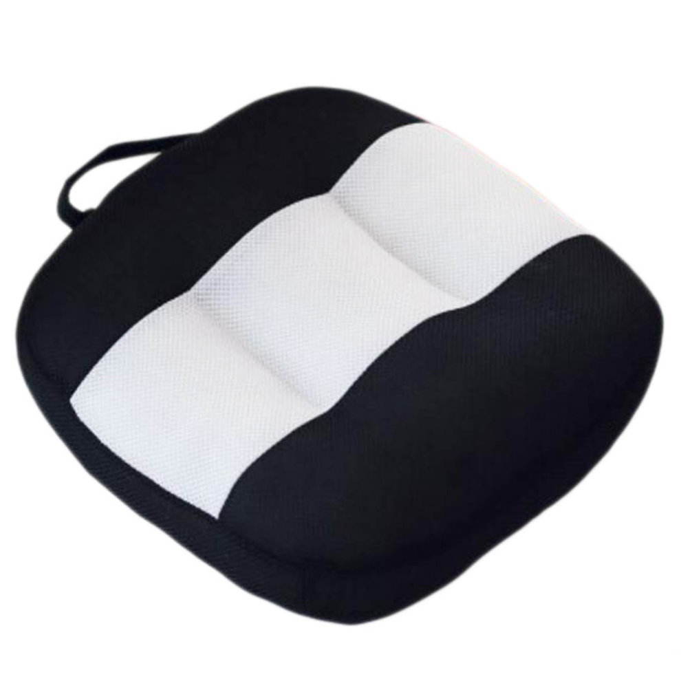 Breathable Car Seat Pillow 15cm Height Increasing Cushion For Driving Office A02