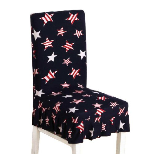 [Stars] Stretch Dining Chair Slipcover Chair Cover Chair Protector