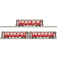 RhB 3 COACH SET EW l BERNINA - Coach - LGB L30675