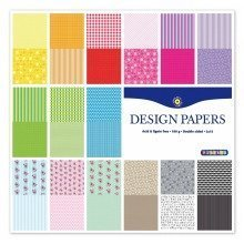Pbx2471157 - Playbox - Scrapbookdesign Pape R (30 Patterns) - 305 X 305 Mm