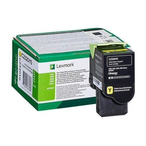 Lexmark Toner cartridge - 1-pack Yellow