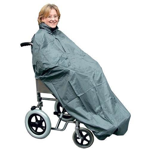 Waterproof Coverall Total Protection For Wheelchair Users