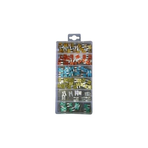 Fuses - Auto Mini Blade - Assorted - Pack Of 100