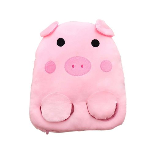 [Cute Pig] USB Foot Warmer Heating Pad Slippers Washable For Home/Office Warm Feet Treasure