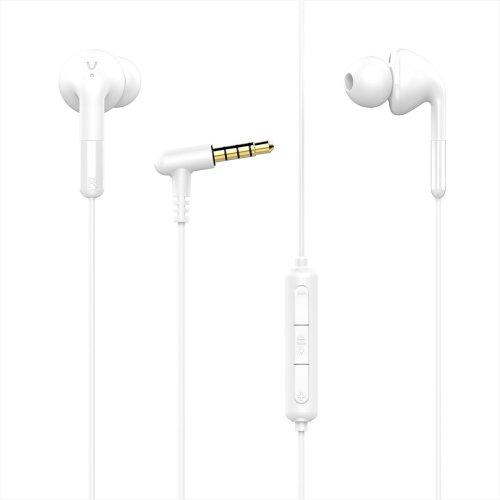 68b8ea93a36 REETEC In ear Earbuds Headphones with Microphone Heavy Bass Noise Isolating  Stereo Wired Earphones RT-S1 Volume Remote Control Headsets for iPhone...  on ...