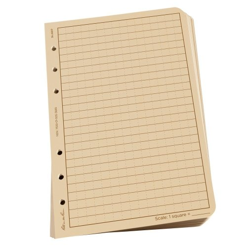 Rite in the Rain Loose Universal Leaf Sheets - Tan, 4⅝ x 7-Inch