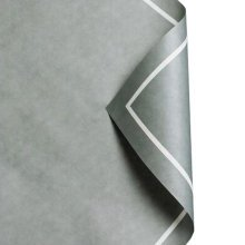 20Pcs Flowers Wrapping Paper Gift Packaging Paper Bouquets Of Paper, Gray