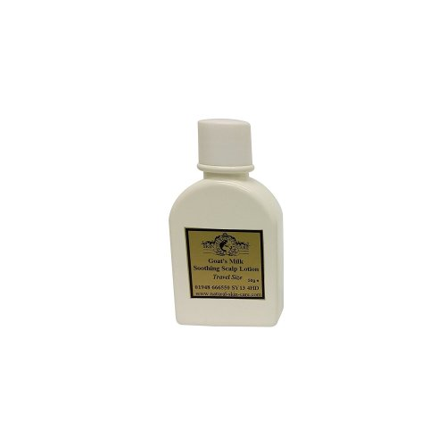Travel Size Goat's Milk Soothing Scalp Lotion for dry, sensitive skin