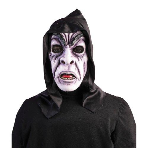 Hooded Zombie Ghoul Mask - Halloween Fancy Dress Accessory Horror Costume Fancy -  halloween zombie hooded mask fancy dress ghoul accessory horror